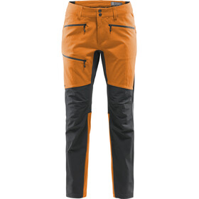 Haglöfs Rugged Flex Pantalones Hombre, desert yellow/true black